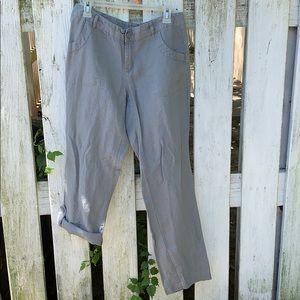 Cynthia Rowley Linen Pants. Size 8. EUC.